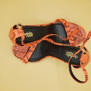Charollette Russe addie Heels size 8